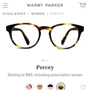 NEW Warby Parker reading glasses